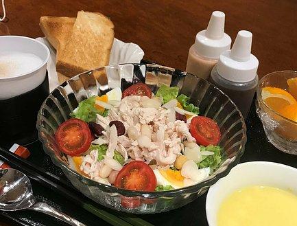 パワーサラダ(朝食)