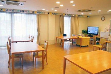 まどか南行徳 3F リビングルーム兼食堂兼機能訓練室