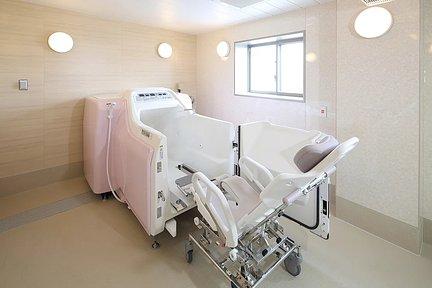 リハビリホームまどか王子神谷 機械浴室(車椅子対応)