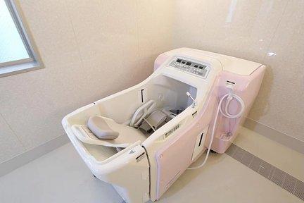 ここち本八幡 1F 機械浴室(車椅子対応)
