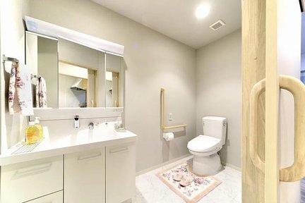 リレ石川橋 居室イメージ/トイレ・洗面台
