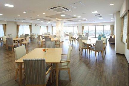 リハビリホームボンセジュール茅ヶ崎 ダイニングルーム兼機能訓練室