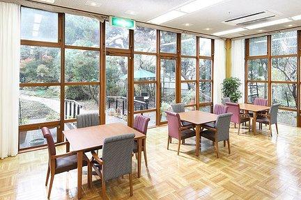 鎌倉山荘 1F ダイニングルーム兼機能訓練室