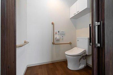 エイジフリーハウス川崎菅生 居室内トイレ 特徴画像