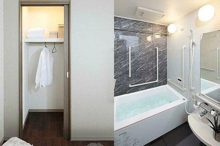 リハビリホームここち行徳 B2タイプ居室 クローゼット/浴室