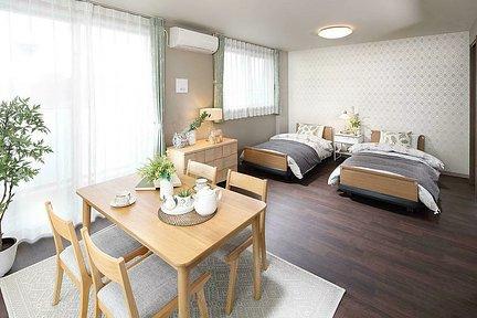 リハビリホームここち行徳 B2タイプ居室イメージ