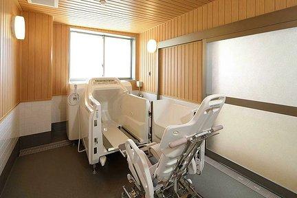 リハビリホームここち行徳 1F 機械浴