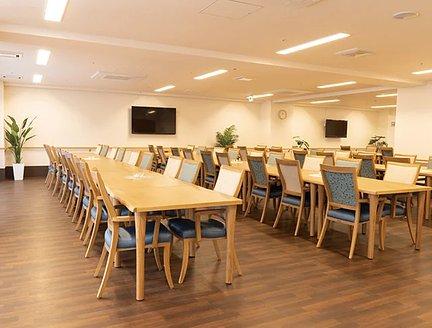リアンレーヴ茅ヶ崎 食堂兼機能訓練室 特徴画像
