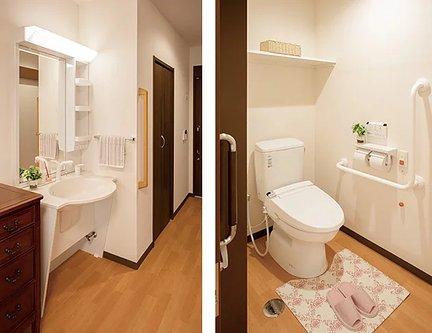 リアンレーヴ上板橋 居室(洗面台・クローゼット・トイレ)