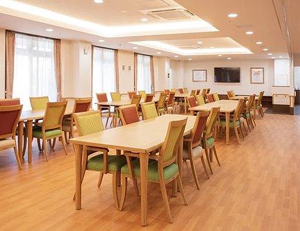 リアンレーヴ上板橋 食堂兼機能訓練室 特徴画像