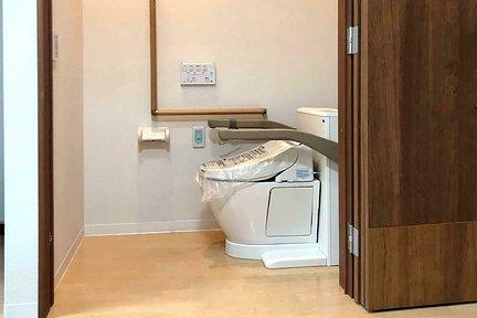 鎌倉山荘 移動できる水洗トイレ