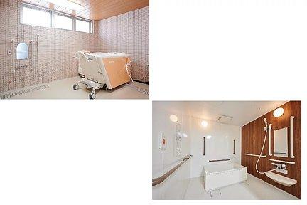 カルナス城野駅前 安全・安心に配慮したお風呂でゆったりと。